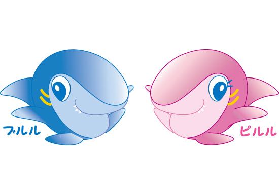 「水族館 キャラクター」の画像検索結果